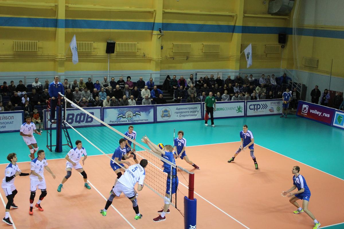 тархан стерлитамак какое место занимает волейбол